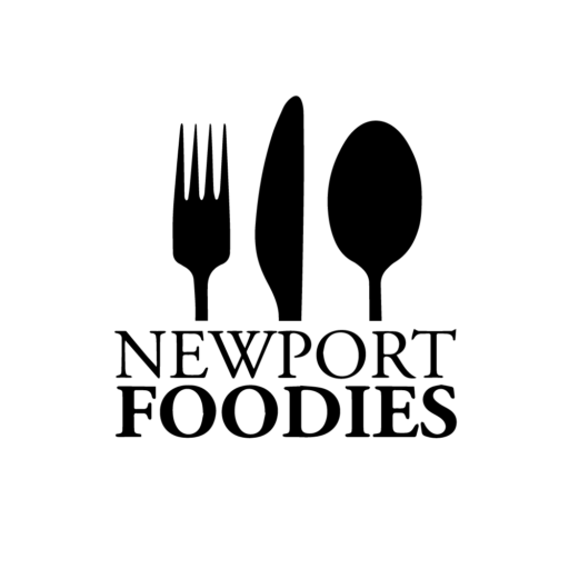 newport foodies logo wit